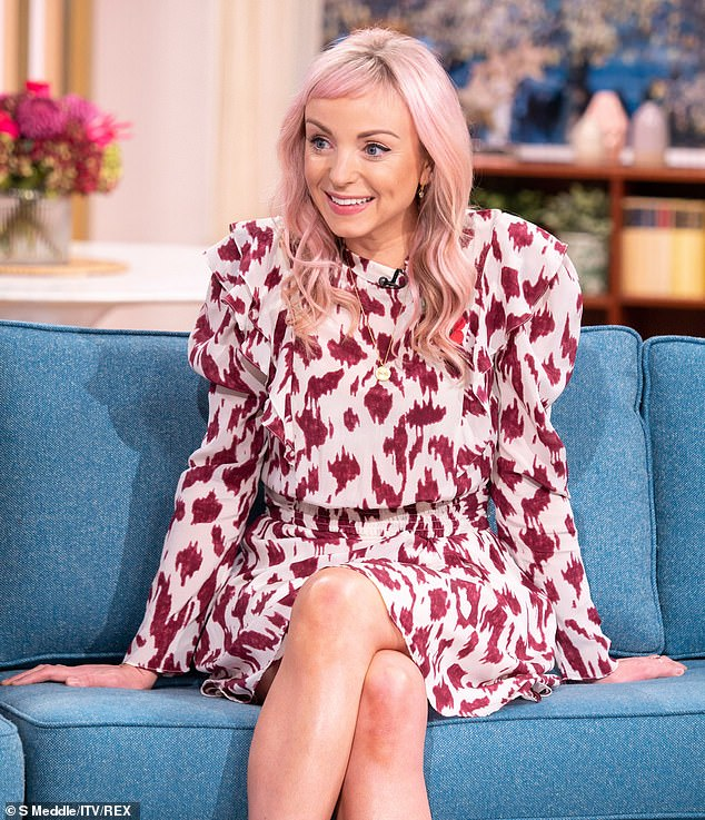 Career: Helen George, 35, has admitted she feels the roles she has been offered have become better since she became a mother