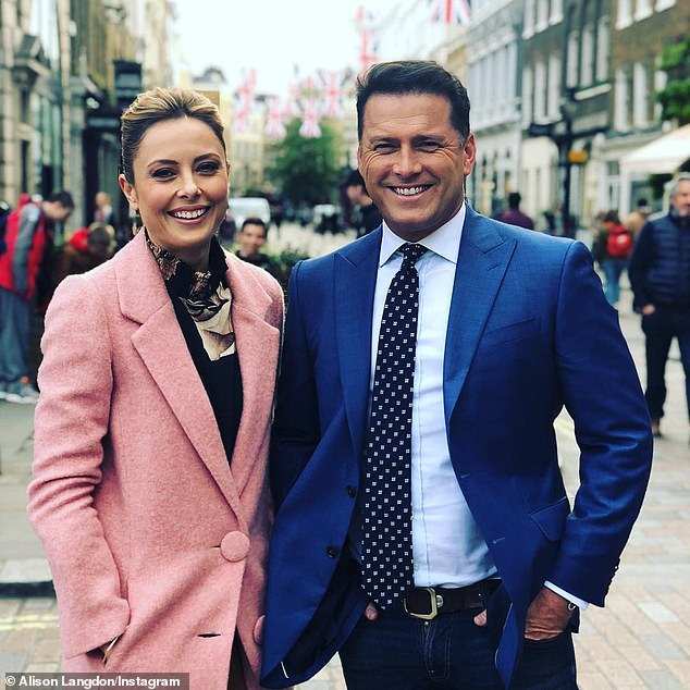 'Chemistry is everything in this game': As for who should join Karl at the helm of Today, McKnight said 60 Minutes reporter Allison Langdon (left) would be a perfect fit
