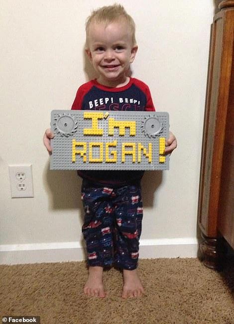 Dawna's three-year-old son Rogan was killed
