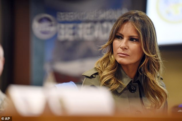 Protesters plan to greet Melania Trump on her visit to Boston Medical Center