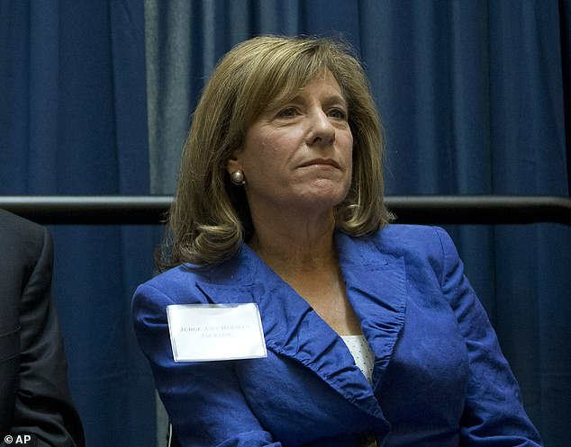 In the hot seat: The trial is being overseen by federal judge Amy Berman Jackson, a Barack Obama appointee
