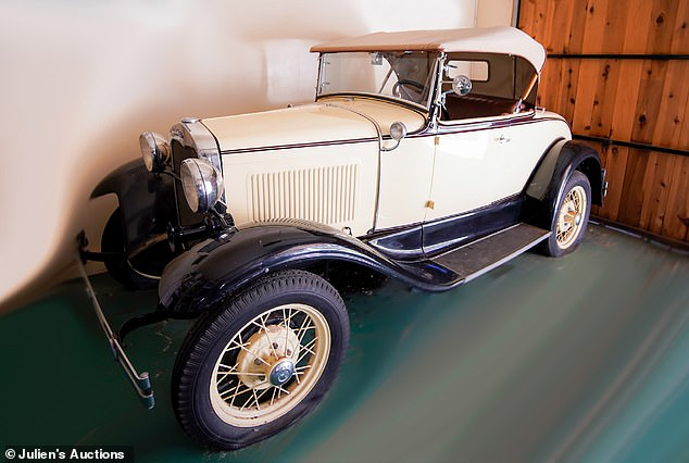 Motor: Doris' 1930 Ford car, as seen in her show Best Friends, will likely be highly sought after