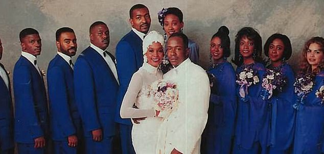Crawford was Houston's maid of honor at her wedding to singer Bobby Brown in 1992