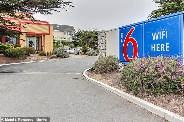 Yesterday, Salazar was traced to a room inside Motel 6, located in the town of Marina, more than 100 miles outside of San Francisco