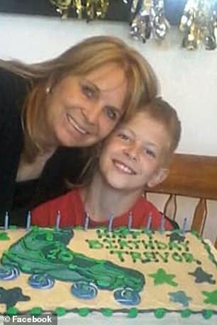 Dawna's 11-year-old son Trevor was killed