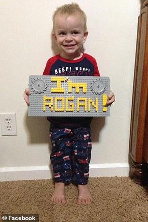 Dawna's son Rogan, 3, died in the attack