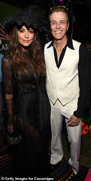 Miller and Patrick Whitesell attend the 2019 Casamigos Halloween Party on October 25, 2019 at a private residence in Beverly Hills
