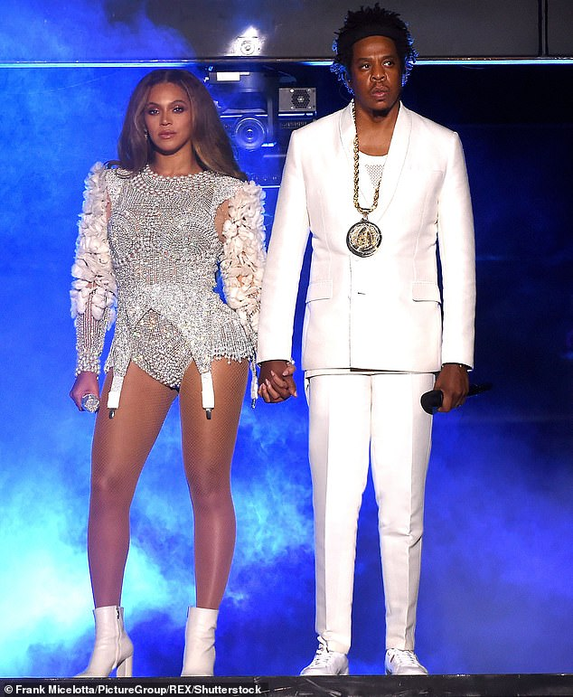 Decadent: Jay-Z is kicking off his first annual Shawn Carter Foundation Gala in Florida the right way. The husband of crooner Beyonce (seen in 2018) has sent his VIP guests a $40,000 Rolex Daytona watch and a $300 bottle of Ace Of Spades champagne to make sure they will attend