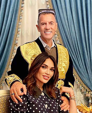 Former Dragons' Den star Duncan Bannatyne, 70, looks every inch the man with the Midas touch