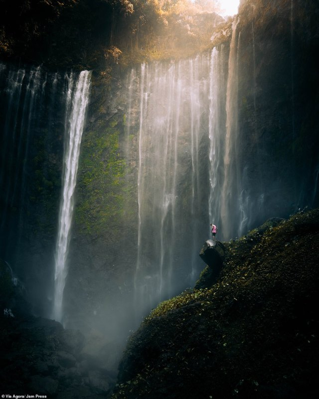 'East Java' by Jonathan Rogers:Taking this shot without getting his lenses soaked was a hard exercise for this photographer in Tumpak Sewu Waterfall, East Java