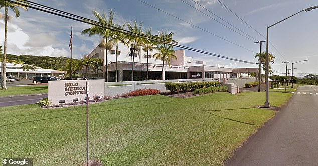 The man was taken to the Hilo Medical Center but was pronounced dead