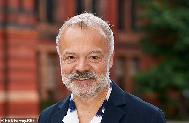 Giddy chat show host Graham Norton is nothing if not a perfectionist.'If I'm in on Friday, I watch my own show,' he tells me