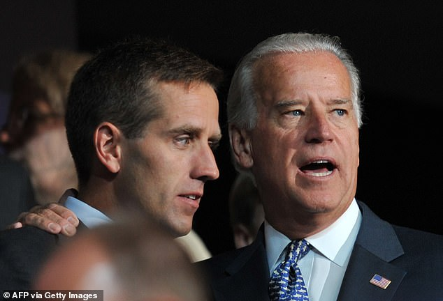 Because Joe Biden was vice president at the time, allies of Mr Trump think bringing father and son as witnesses could be a way in to explain he asked President Volodymyr Zelensky to 'look into' the pair in a phone call on July 25