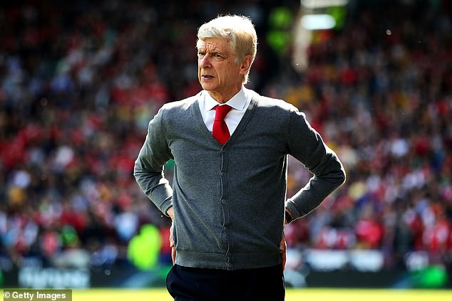 Arsenal went under Arsene Wenger in the descent and still can not escape
