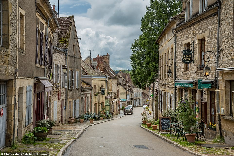 On a steep hill in Burgundy, just south of Auxerre, lies Vezelay, which is blessed with a Unesco-listed 12th-century basilica and the quaintest of streets, as this image shows