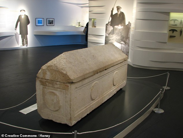 As part of the first archaeological excavations in the Holy Land, France's Louis Félicien de Saulcy was granted permission by the Turkish sultan to survey the tomb in 1863.Against the protestations of the local Jewish community, both the human remains and two sarcophagi (one of which is pictured) found within were added to the Louvre's collections in Paris