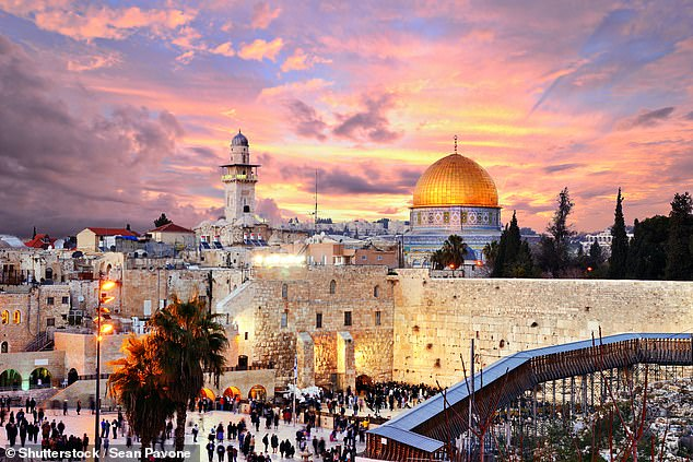 Ancient wonder: The skyline of the Old City in Jerusalem