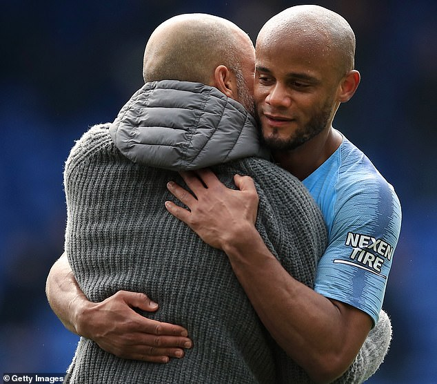 Kompany was a rock in defense while City won the title until the last day of the season