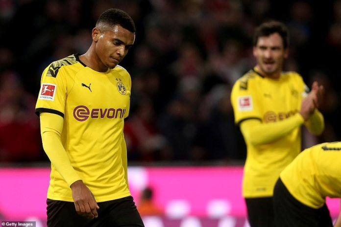 Borussia Dortmund struggled at both ends of the field to impose themselves in a sluggish first-half in Munich