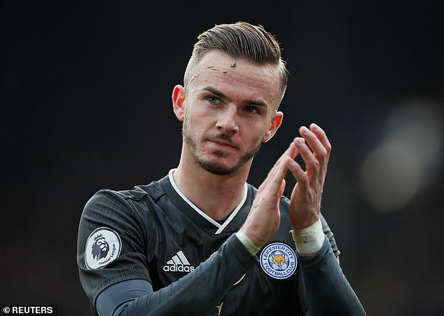 Maddison has been key for the Foxes in the league this season with four goals and two assists