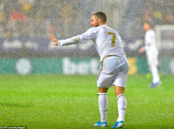 Eden Hazard was one of the main creative sparks in Real Madrid's side and won the first penalty taken by Sergio Ramos