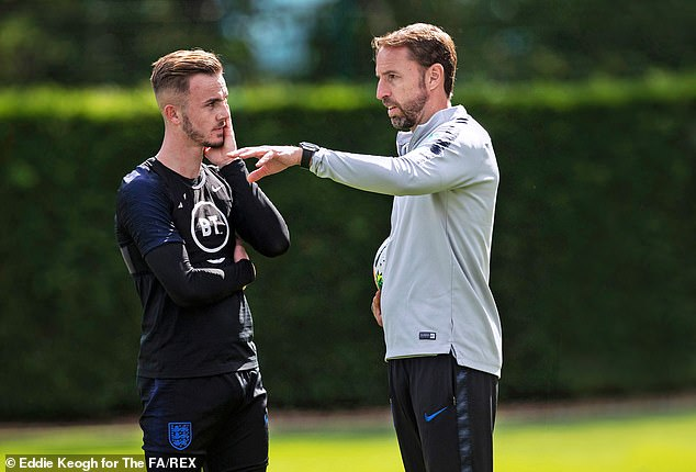Gareth Southgate has challenged Maddison to be 'high performance, low maintenance'