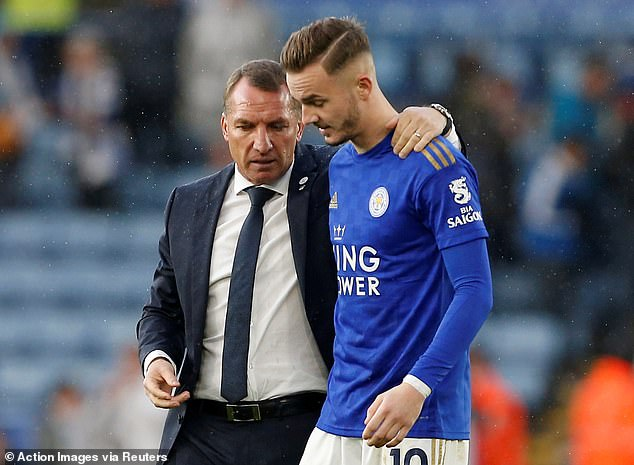 Maddison has gone from strength to strength under the guidance of boss Brendan Rodgers