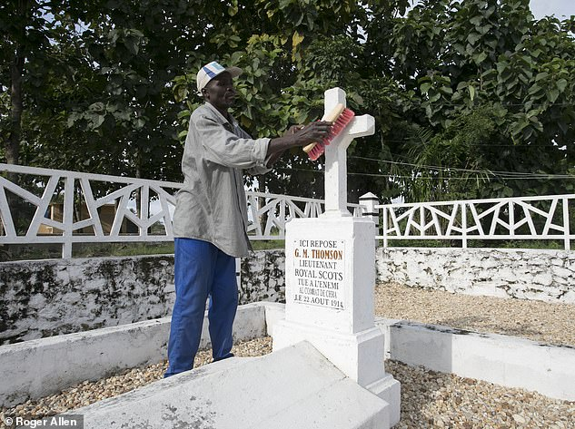 In the heart of the African bush, Kokou Esso, an impoverished villager, carefully sweeps the grave of an officer of the British Army. It is well maintained, pristine and, above all, remembered