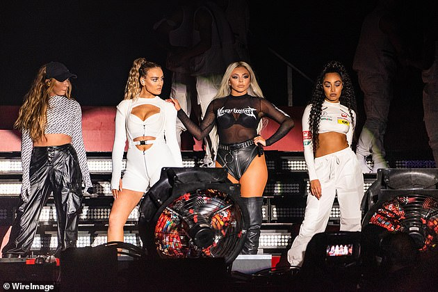 Track record: Little Mix's members, Perrie Edwards, Jesy Nelson, Jade Thirlwall and Leigh-Anne Pinnock, become mentors for competitors
