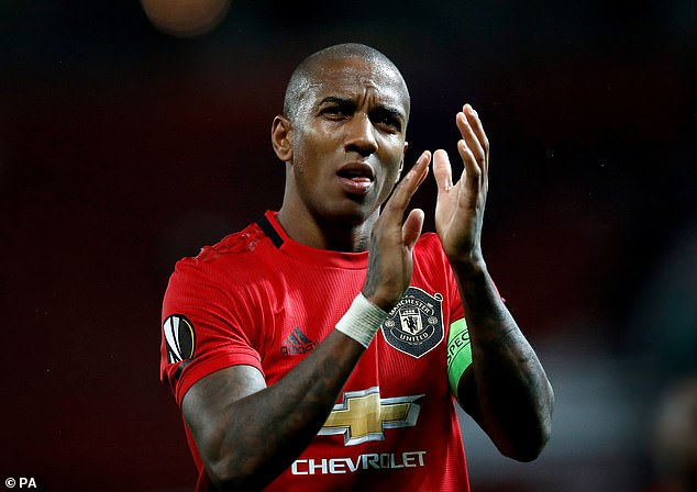 Young said he could not understand why Martial was not in France's squad this break