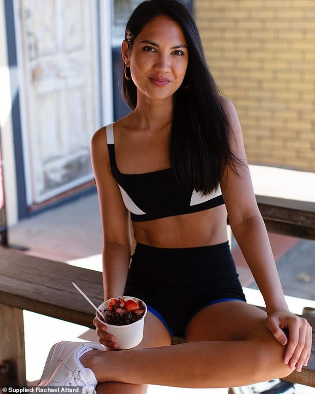 The first and most important thing Rachael (pictured) believes you need to pay attention to is your nutrition