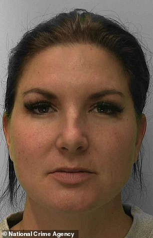 Christine Callaghan, 33, of Bexhill-on-Sea, in East Sussex, was paid by another pedophile for a live recording of £ 2,385 for a live film on herself, in sexually abusing a girl for three years