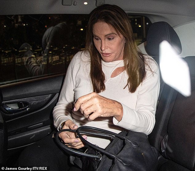"Caitlyn told the Sun, ""I'm not allowed to talk about it until next week. I'm not sure what I can say. I do not have the right to say anything"