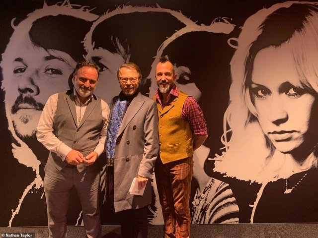 At the museum Nathan and Ben's dreams came true when they were introduced toABBA member Björn Ulvaeus