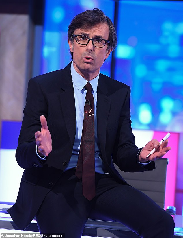 ITV Political Editor Mr Peston has yet to comment on his partner's claims, though he did retweet her piece to his followers