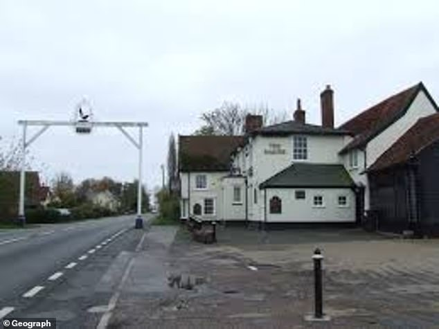 Forensics carried out an investigation in the pub but detectives have not yet disclosed when a post-mortem is being held to establish how the woman died