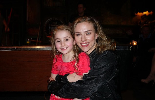 Griggs made her Broadway debut at the age of six in Cat On A Hot Tin Roof, alongside Scarlett Johansson (pictured)