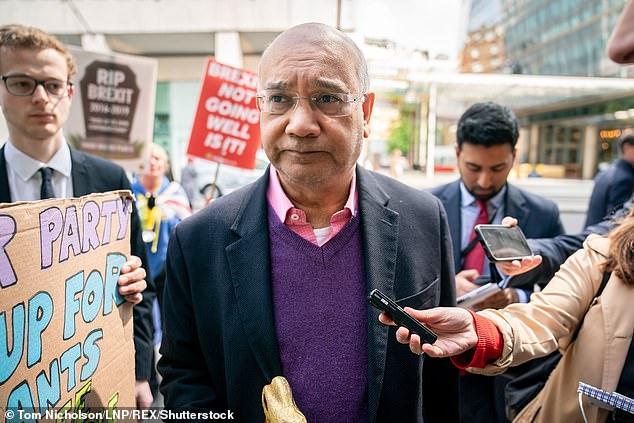 Labour Party MP Keith Vaz arrives at Labour Party headquarters in April