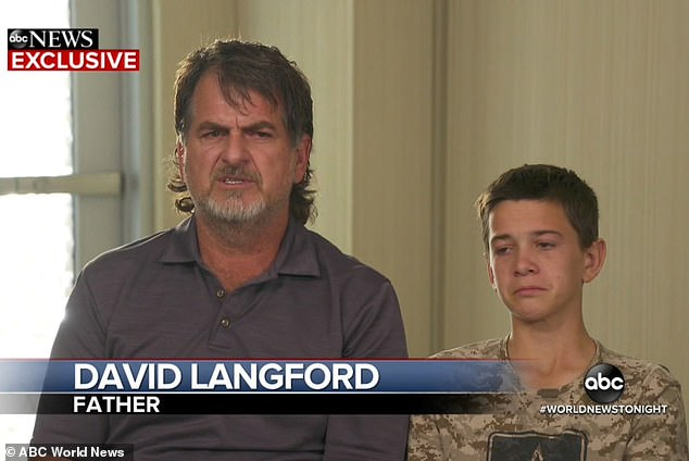 Devin Langford, 13, and his father David spoke to ABC News about the massacre that killedDawna Langford and her two sons, Trevor, 11, and Rogan, 2, in Mexico last week