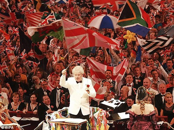 The song has traditionally been sung at the Last Night of the Proms concert