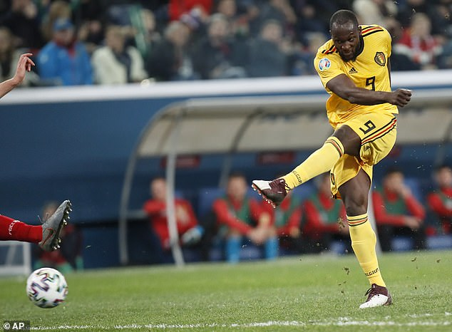 Inter Milan striker Romelu Lukaku also found the net as Belgium took all three points