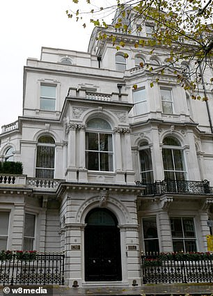 John Caudwell, who remains on good terms with his ex-wife has purchased two houses on different Mayfair streets to make one £250 million mansion