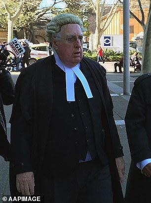 NSW Supreme Court judge Greg James will represent Jacenko in court on Thursday