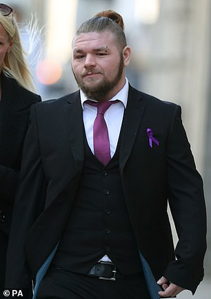 Jodie's boyfriend Eddie Coyle has been left with PTSD after witnessing the fatal attack