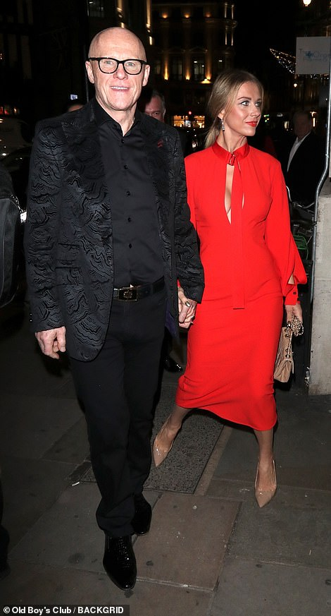 More guests includingJohn Caudwell arrive at the Royal Variety