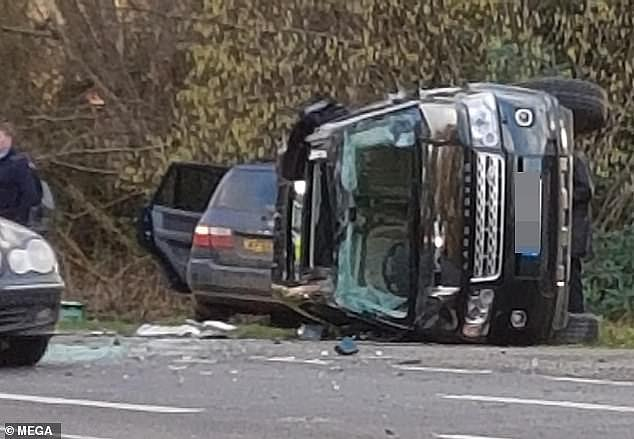 It began with a car crash near Sandringham in January, in which the then 97-year-old Duke of Edinburgh — far too elderly to be at the wheel of a car — was involved in a collision in which a woman broke her wrist, another was hospitalised, and a nine-month-old baby could very well have been killed, writesA. N. WILSON