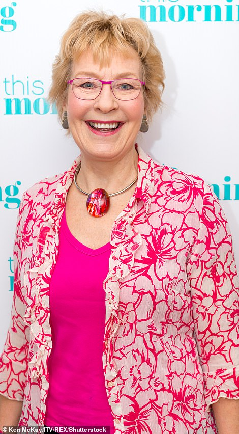 Christine Hamilton, media personality and author pictured in 2018