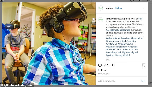 Kinful creates a range of ¿social-emotional learning¿ programs using virtual reality in hopes of encouraging empathy in children