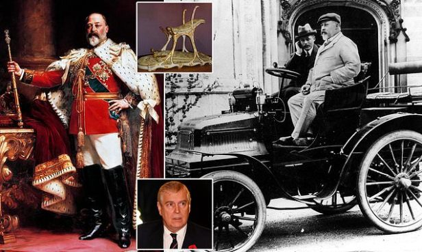 RICHARD LITTLEJOHN: Royal scandal on Dirty Bertie not Randy Andy!