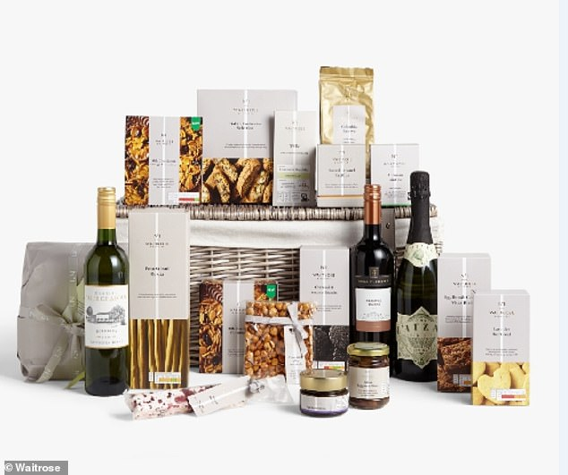 Their No.1 Decadence Hamper looks full to the brim of delights including everything you could want at Christmas, such as olives, a Panettone and Fig & Balsamic Chutney